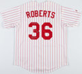Baseball Collectibles:Tickets, Robin Roberts Signed Philadelphia Phillies Jersey....