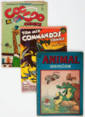 Golden Age (1938-1955):Miscellaneous, Comic Books - Assorted Golden Age Comics Group of 15 (Various Publishers, 1940s-50s) Condition: Average GD/VG except as noted.... (Total: 15 Comic Books)
