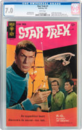 Silver Age (1956-1969):Science Fiction, Star Trek #1 (Gold Key, 1967) CGC FN/VF 7.0 White pages....