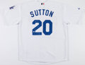Baseball Collectibles:Uniforms, Don Sutton Signed Los Angeles Dodgers Jersey....