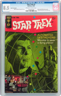 Silver Age (1956-1969):Science Fiction, Star Trek #3 Back Cover Variant (Gold Key, 1968) CGC VF+ 8.5 Off-white to white pages....