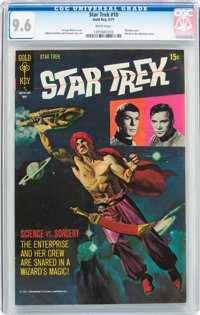 Star Trek #10 (Gold Key, 1971) CGC NM+ 9.6 White pages
