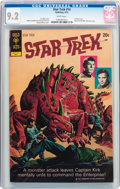Bronze Age (1970-1979):Science Fiction, Star Trek #14 (Gold Key, 1972) CGC NM- 9.2 White pages....