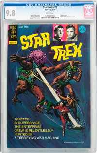 Star Trek #22 (Gold Key, 1974) CGC NM/MT 9.8 White pages