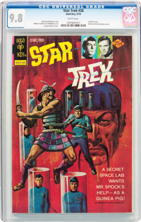 Star Trek #26 (Gold Key, 1974) CGC NM/MT 9.8 White pages