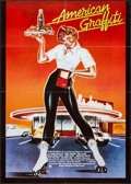"Movie Posters:Comedy, American Graffiti (Universal, 1974). German A1 (23.5"" X 33""). Comedy.. ..."