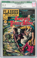 Golden Age (1938-1955):Classics Illustrated, Classics Illustrated #41 Twenty Years After - Original Edition (Gilberton, 1947) CGC Qualified VF+ 8.5 Off-white to white page...