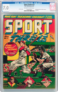 Golden Age (1938-1955):Miscellaneous, Sport Thrills #14 (Star Publications, 1951) CGC FN/VF 7.0 Off-white to white pages....