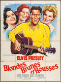 """Movie Posters:Elvis Presley, It Happened at the World's Fair (MGM, 1964). French Grande (47"""" X63""""). Elvis Presley.. ..."""
