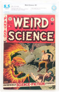 Golden Age (1938-1955):Science Fiction, Weird Science #21 (EC, 1953) CBCS VF+ 8.5 Off-white pages....