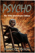 Books:Horror & Supernatural, Robert Bloch. Richard Matheson, introduction. SIGNED/LIMITED. Psycho: The 35th Anniversary Edition. [Springfield, PA...