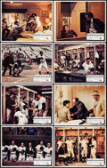 "Movie Posters:Sports, Bang the Drum Slowly (Paramount, 1973). Lobby Card Set of 8 (11"" X 14""). Sports.. ... (Total: 8 Items)"