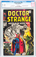 Silver Age (1956-1969):Superhero, Doctor Strange #169 (Marvel, 1968) CGC FN/VF 7.0 White pages....