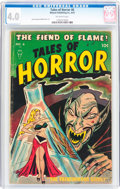 Golden Age (1938-1955):Horror, Tales of Horror #6 (Toby Publishing, 1953) CGC VG 4.0 Off-whitepages....