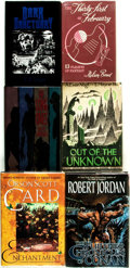 Books:Science Fiction & Fantasy, [Science Fiction/Fantasy]. Group of Five First Editions. Various publishers and dates.... (Total: 6 Items)