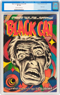 Golden Age (1938-1955):Horror, Black Cat Mystery #45 (Harvey, 1953) CGC VF 8.0 Cream to off-whitepages....