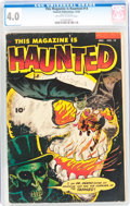 Golden Age (1938-1955):Horror, This Magazine Is Haunted #14 (Fawcett Publications, 1953) CGC VG4.0 Off-white to white pages....