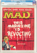 Magazines:Mad, Mad #54 Gaines File pedigree (EC, 1960) CGC NM+ 9.6 White pages....
