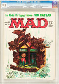 Magazines:Mad, Mad #55 Gaines File pedigree (EC, 1960) CGC NM/MT 9.8 Off-white towhite pages....