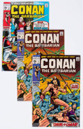 Bronze Age (1970-1979):Adventure, Conan the Barbarian #1 and 2 Group (Marvel, 1970) Condition: Average VF.... (Total: 8 Comic Books)