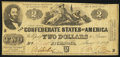 Confederate Notes:1862 Issues, T42 $2 1862 PF-2 Cr. 334.. ...