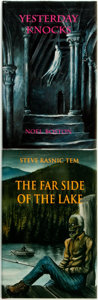 Books:Horror & Supernatural, [Horror]. Pair of Limited, First Edition Novels. Ashcroft, BC:Ash-Tree Press, 2001 - 2003.... (Total: 2 Items)