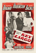"Movie Posters:Film Noir, Key Largo (Warner Brothers, 1948). One Sheet (27.5"" X 41"").. ..."