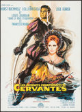 "Movie Posters:Adventure, Cervantes (Lux, 1968). French Affiche (23"" X 31.5"") AlternativeTitle: Young Rebel. Adventure.. ..."