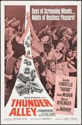 """Movie Posters:Action, Thunder Alley (American International, 1967). One Sheet (27"""" X 41"""") Flat Folded. Action.. ..."""