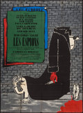 """Movie Posters:Foreign, The Spies (Cinedis, 1957). French Grande (45"""" X 61.5""""). Foreign.. ..."""