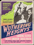 "Movie Posters:Romance, Wuthering Heights (Samuel Goldwyn, R-1955). Silkscreen Poster (30""X 40""). Romance.. ..."