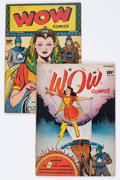Golden Age (1938-1955):Miscellaneous, Wow Comics #49 and 58 Group (Fawcett Publications, 1946-47) Condition: Average VG/FN.... (Total: 2 Comic Books)