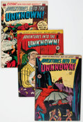Golden Age (1938-1955):Horror, Adventures Into The Unknown Group of 6 (ACG, 1950-52) Condition:Average FN.... (Total: 6 Comic Books)