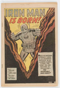 Silver Age (1956-1969):Superhero, Tales of Suspense #39 (Marvel, 1963) Condition: Coverless....