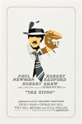 "Movie Posters:Crime, The Sting (Universal, 1973). One Sheet (27"" X 41"") AlternateStyle.. ..."