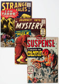 Silver Age (1956-1969):Science Fiction, Marvel Silver Age Monster Comics Group of 3 (Marvel, 1960-61) Condition: Average VG.... (Total: 3 Comic Books)