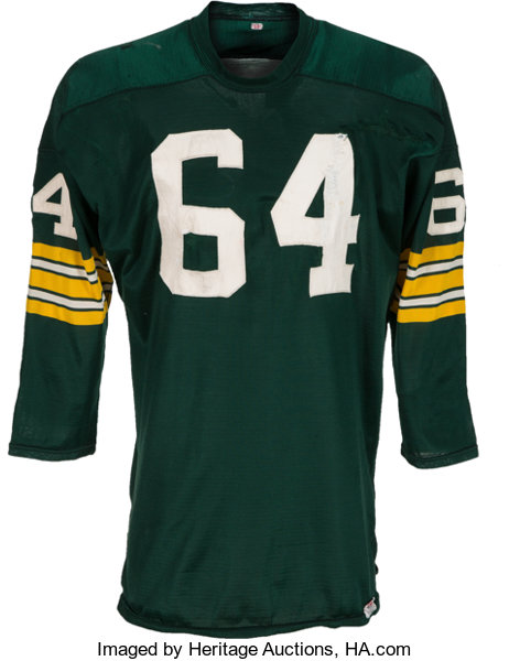 new styles 91990 29579 1967 Jerry Kramer Super Bowl I Game Worn Green Bay Packers ...