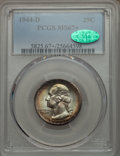Washington Quarters, 1944-D 25C MS67+ PCGS. CAC....