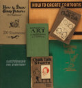 Books:Art & Architecture, [Cartooning, Art Instruction]. Group of Seven Books on Cartooning Technique. Various publishers, 1924 - 1946.... (Total: 7 )
