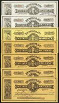 Obsoletes By State:Nevada, Winnemucca, NV- Humboldt County Warrants Various Amounts 1917-32 Twelve Examples . ... (Total: 12 notes)