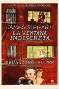 "Movie Posters:Hitchcock, Rear Window (Paramount, 1954). Argentinean One Sheet (28.5"" X43"").. ..."