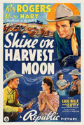 "Movie Posters:Western, Shine On Harvest Moon (Republic, 1938). One Sheet (27.5"" X 41"").. ..."