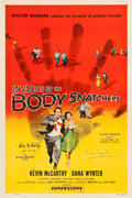 "Movie Posters:Science Fiction, Invasion of the Body Snatchers (Allied Artists, 1956). Autographed One Sheet (27"" X 41"").. ..."