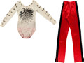 Music Memorabilia:Costumes, Alice Cooper - Neal Smith Outfit Worn on Stage During the Loveit to Death/Killer Era (1971)....