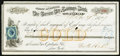 Obsoletes By State:Nevada, Carson City, NV- State of Nevada Carson City Savings Bank Original of Exchange $200 Mar. 9, 1877. ...