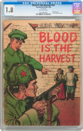 Golden Age (1938-1955):War, Blood Is the Harvest #nn (Catechetical Guild, 1950) CGC GD- 1.8Off-white pages....