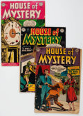 Golden Age (1938-1955):Horror, House of Mystery Group of 50 (DC, 1952-62) Condition: AverageGD-.... (Total: 50 Comic Books)