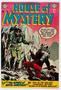 Golden Age (1938-1955):Horror, House of Mystery #22 (DC, 1954) Condition: FN+....