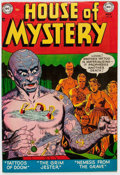 Golden Age (1938-1955):Horror, House of Mystery #8 (DC, 1952) Condition: VF-....