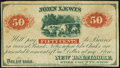 Obsoletes By State:Ohio, New Baltimore, OH- John Lewis 50¢ Dec. 1, 1862. ...